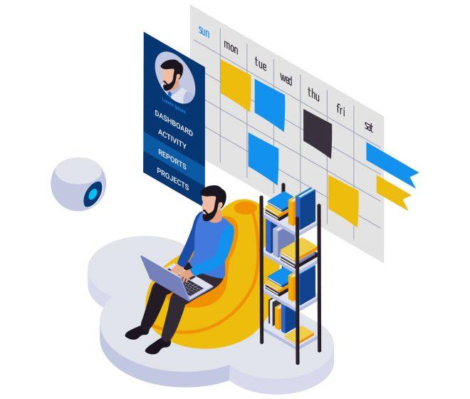 Remote Calendar Management Composition